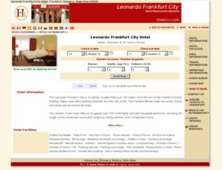 leonardo-frankfurt.hotel-rv.com screenshot