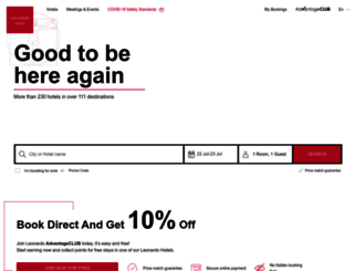leonardo-hotels.com screenshot