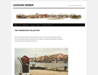 leonardweber.net screenshot