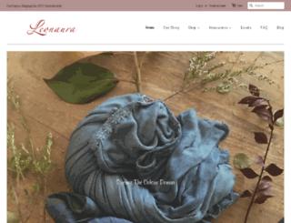 leonaura.com.au screenshot