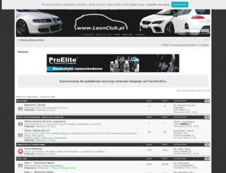 leonclub.pl screenshot