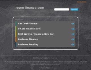 leone-finance.com screenshot