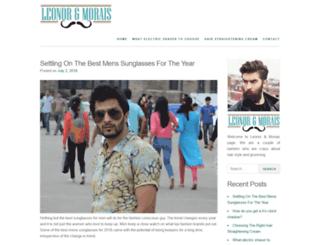 leonormorais.com screenshot