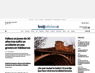 leonoticias.com screenshot