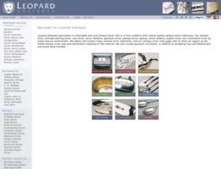 leopardantiques.com screenshot