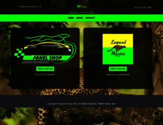 leopardgroup.co.za screenshot