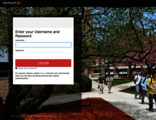 leopardweb.wit.edu screenshot