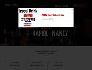 leopoldrink.fr screenshot