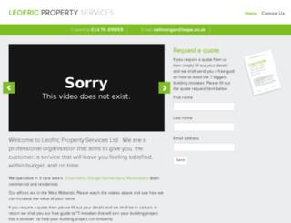 leops.co.uk screenshot