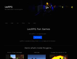 leorpg.com screenshot