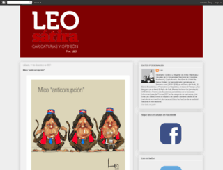 leosatira.blogspot.com screenshot