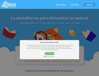 leoteca.es screenshot