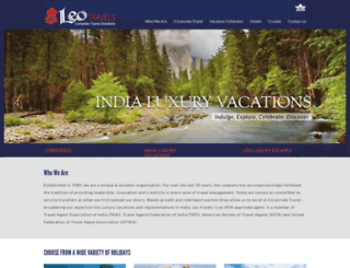 leotravels.com screenshot