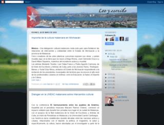 leoyescribodesdecuba.blogspot.com screenshot