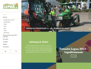 lepaa.fi screenshot