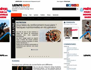 lepape-info.com screenshot