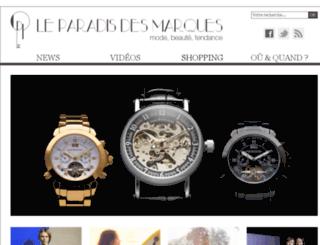 leparadisdesmarques.com screenshot