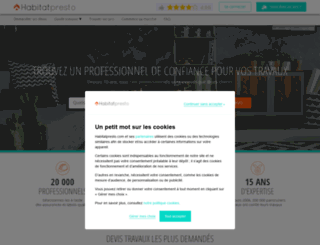 leparisien.devispresto.com screenshot