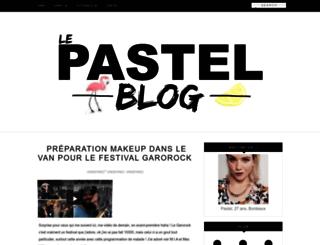 lepastelblog.blogspot.fr screenshot