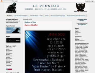lepenseur-lepenseur.blogspot.com screenshot