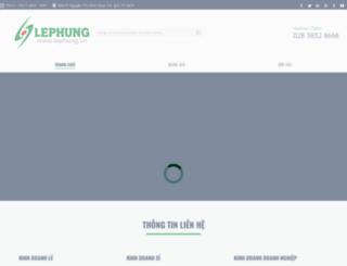 lephung.vn screenshot