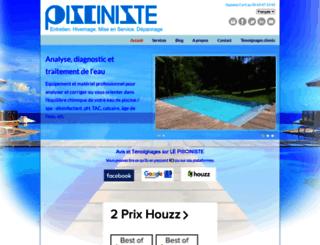 lepisciniste.fr screenshot