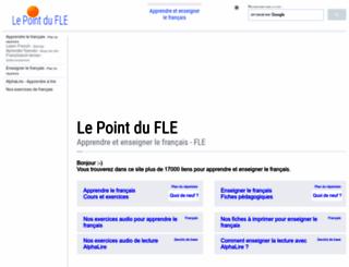 lepointdufle.net screenshot