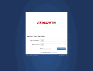 lequipe-preprod.mirakl.net screenshot