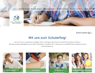 lern-forum.com screenshot