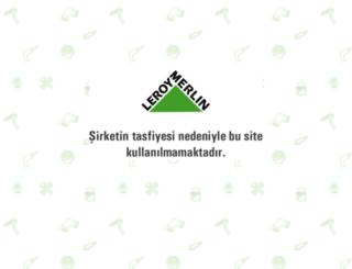 leroymerlin.com.tr screenshot