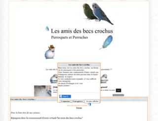 les-amis-des-becs-cr.forumactif.org screenshot