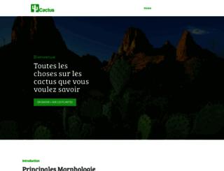 les-cactus.com screenshot
