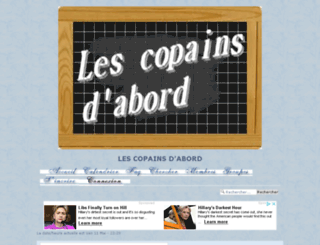 les-copains-d-abord.forumdediscussions.net screenshot