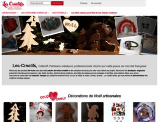 les-creatifs.com screenshot