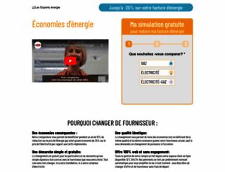 les-experts-energie.com screenshot