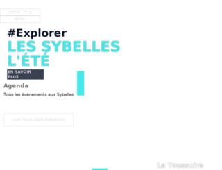 les-sybelles.fr screenshot