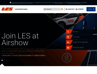 les.com screenshot