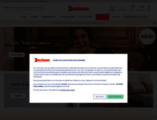 les3suisses.fr screenshot