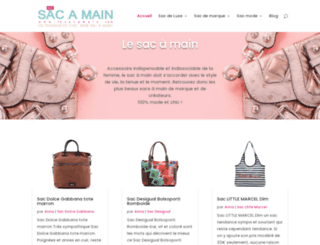 lesacamain.com screenshot