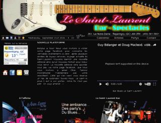 lesaint-laurentbar.com screenshot