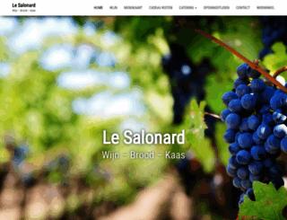 lesalonard.com screenshot