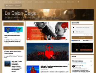 lesalonbeige.fr screenshot
