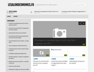 lesalondesmomes.fr screenshot