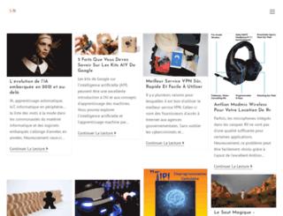 lesalonnumerique.com screenshot