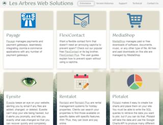 lesarbresdesign.info screenshot