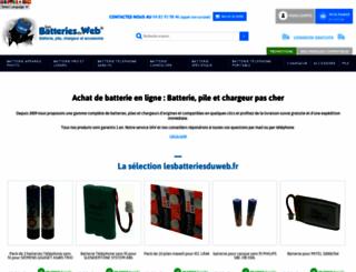 lesbatteriesduweb.fr screenshot