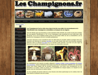 leschampignons.fr screenshot