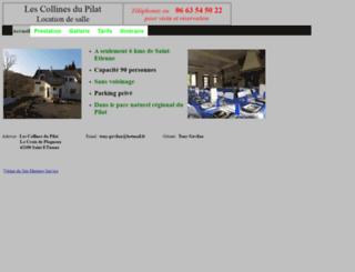 lescollinesdupilat.com screenshot