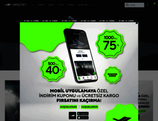 lescon.com.tr screenshot