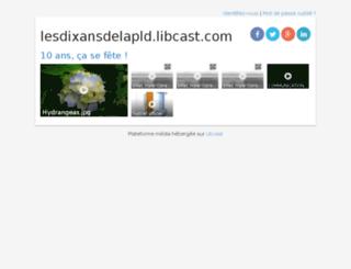 lesdixansdelapld.libcast.com screenshot